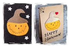 Basteln zu Halloween Coasters, Cover, Happy, Bricolage Halloween, Original Gifts, Writing Paper, Autumn Decorations, Gifts For Birthday, Coaster