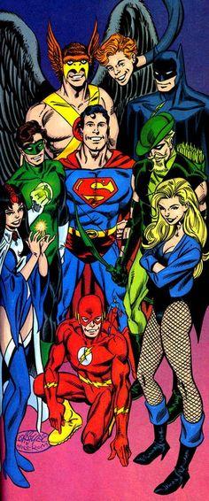 #Justice #League #Fan #Art. (Justice League) By: John Byrne. (THE * 5 * STÅR * ÅWARD * OF: * AW YEAH, IT'S MAJOR ÅWESOMENESS!!!™)[THANK Ü 4 PINNING!!!<·><]<©>ÅÅÅ+(OB4E)