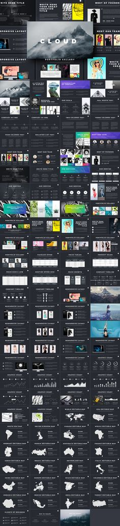 The 41 best powerpoint keynote presentation templates at cloud creative powerpoint template toneelgroepblik Image collections