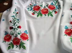 вышивка гладью маки на одежде схемы: 25 тыс изображений найдено в Яндекс.Картинках