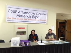CSUF Affordable Course Materials Expo 3/24/15 #TitanShops #CSUF