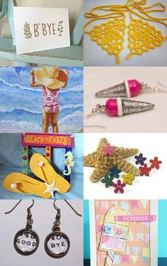Good bye summer, hello autumn by Michelle Bowers on Etsy--Pinned with TreasuryPin.com