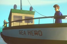Sea Hero Quest game is helping diagnose dementia early by testing navigation skills Story Of Titanic, Dementia Diagnosis, Motivational Stories, John Kennedy, Atlantic Ocean, Sailing, Health Care, Boat, Hero