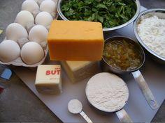 Green Chili Egg Casserole Recipe