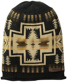 Pendleton Mens Slouchy Beanie Harding Oxford Mix One Size >>> Want additional info? Click on the image. (This is an affiliate link)