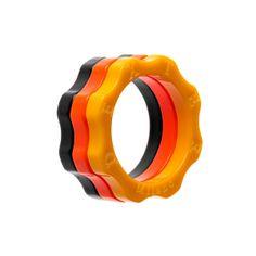 WORLD CUP 2014 plexy rings - Anelli plexy WORLD CUP 2014 www.dextermilano.com @Dexter S. Milano #timemachine #anelli #rings #plexy #jewelry #gioielli #gear #ingranaggio #worldcup2014