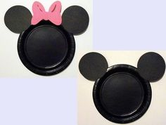 paper plate idea · Minnie Mouse PartyMickey ... & Mickey \u0026 Minnie Mouse party Birthday Party Ideas | Minnie mouse ...