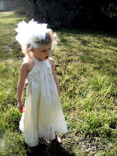 vintage style flower girl first communion dress lace satin ivory white toddler baby 18 month 24 month 2T 3T cream victorian country wedding