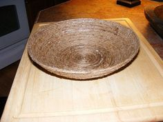 Bol de cuerda/How to make a bowl from Jute rope.