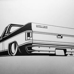 Square Body Chevy Drawing in square body chevy drawing collection - ClipartXtras 87 Chevy Truck, Chevrolet Silverado, Truck Coloring Pages, Colouring Pics, Tiki Man, C10 Trucks, Truck Art, Square Body, Car Drawings