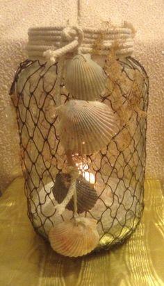 153 Best Seashell Lanterns Images Lanterns Coastal