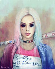 Harley Quinn by Rashua