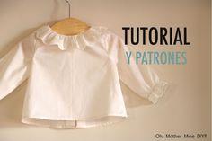 Aprender a coser: Blusa primera puesta (patrones gratis)