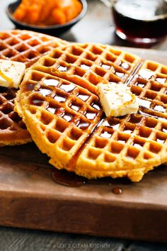 I wasn't kidding when I said it's a pumpkin party this month for Healthy Food Friday with American Express! Last week we had Sticky Bun Pumpkin Muffins that have been a serious hit around these parts. This week I'm giving you a classic. This is the ultimate pumpkin waffle recipe that needs to be your …