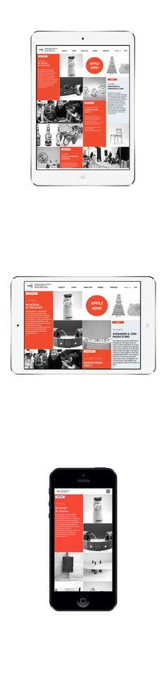 unibz | Concept Website on Web Design Served