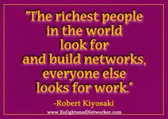 Discover and share Quotes Robert Kiyosaki On Network Marketing. Explore our collection of motivational and famous quotes by authors you know and love. Networking Quotes, Social Media Quotes, Business Networking, Nerium International, Rich People, New People, Home Based Business, Business Tips, Business Notes