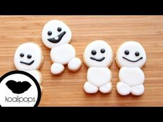 Frozen Fever : Snowgies Cookies | How To - YouTube