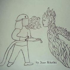Firefighter vs flame. Search for photos by tag: #Everyone_can_be_a_superhero  #art #arts #paint #painting #drawing #drawings #markers #paintings #watercolor #watercolour #ink #creative #sketch #sketchaday #pencil #myart #artwork #illustration #graphicdesign #graphic #color #colour #beauty #amazing #blackandwhite #bw #black #white #bnw #mono #igersbnw #bw_lover #monochrome #bwoftheday #bwstyles #bwbeauty #bandw #nero #tagsta_bw #monoart #beauty #beautiful