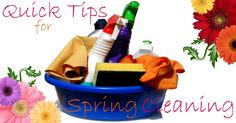 Quick Tips for Spring Cleaning on http://blog.aboutone.com