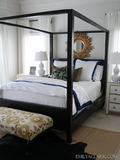 Updating Our Master Bedroom Bedding - Emily A. Clark