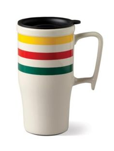 Pendleton Ceramic Travel Mug