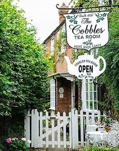 The Cobbles Tea Room in Rye, East Sussex, England