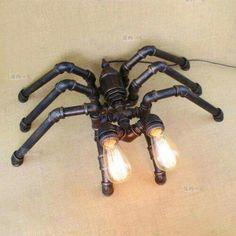 Clockworkeyes pipe steampunk spider