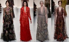 valentino-fall-winter-2014-2015-collection-runway-floral-dress-gown-style-fashion