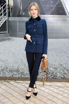 31 Times Elena Perminova's Street Style Was Total Perfection: StyleCaster waysify