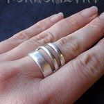 How to Recycle Silverware into Art    Spoon rings are a popular jewelry item   They are a novelty to look at and they never go out of style....