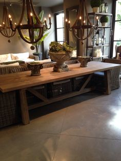 Outdoor Teak Table From Restoration Hardware. Could Be Easy To Duplicate  For Outdoor Space.