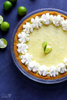 Best Key Lime Pie - crust - finely ground graham cracker crumbs - sugar - butter - Filling - 14 oz. can sweetened condensed milk - 3 large eggs - key lime juice - 2 cups whipped cream