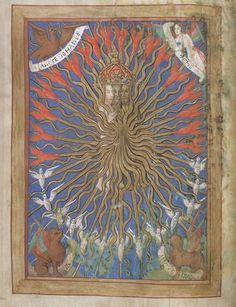 Flight, fire and light. The Trinity in a late 15th-century book of hours, Royal MS 2 B.xv, f.10v
