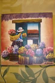 Resultado de imagen de cuadros de las chismositas Peruvian Art, Mini Paintings, Mexican Art, Prismacolor, Decoupage, Mexico, Canvas Art, Culture, Embroidery