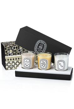 Diptyque gift set -- Looks like it'd have been a great Christmas set :)