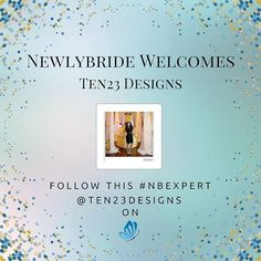 Happy Wedding Wednesday!  We're kicking it off with welcoming one of our Newlybride Experts, Ten23 Designs!  We are so excited to showcase bridal tips and advice from this creative because when it comes to branding a wedding, she does it all!  From decals, cake toppers, custom wood signs, and anything else you can imagine, she will make it a reality!