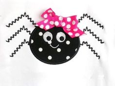 Spider Applique Design Machine Embroidery by trendystitchdesigns, $3.99
