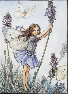 Ceramic Sensations - The Lavender Flower Fairy