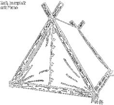 HOW TO MAKE  A VIKING TENT BY YOURSELF