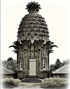 pineapple shaped Victorian hothouse