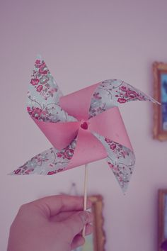DIY moulin à vent, DIY pinwheel