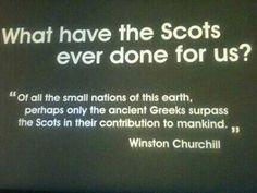 The Scots ... #Scotland #Winston Churchill #quote