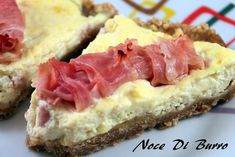 Cheesecake+salato,+ricetta+semplice+Noce+Di+Burro