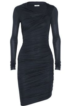 Helmut+Lang+Twisted+Slack+micro+modal+dress+|+NET-A-PORTER  Found similar style at forever 21