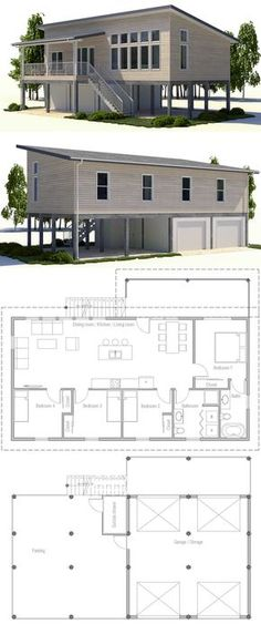 House Plan 2017 Could make it smaller.
