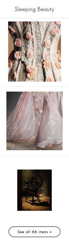 """Sleeping Beauty"" by assyso ❤ liked on Polyvore featuring backgrounds, fairytale, claire holt, people, pictures, photos, pink, fillers, slikice and fantasy"