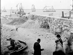 Original photographs from the Civil War. Fort Sumter.