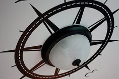 Ships wheel decal