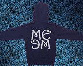 MEME hooded sweat jacket