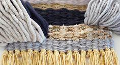 毛糸のウィービングデコレーションの作り方